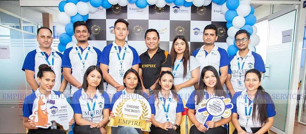 empire nepal staff