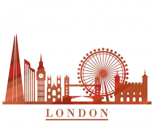 red skyline london